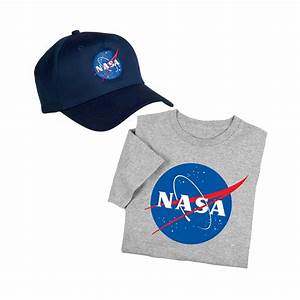 Show your love of space with NASA Logo Adult T-shirt ...