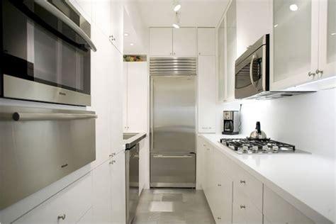 galley kitchen remodel white galley kitchen modern kitchen White