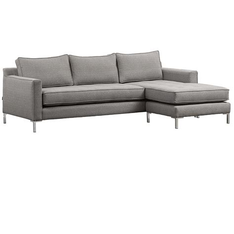 draper flip sectional mikaza meubles modernes montreal