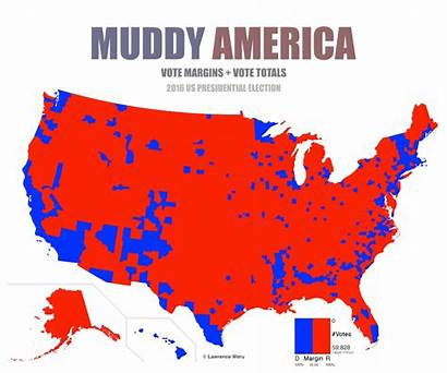 Election Map Population Presidential Maps America Vs