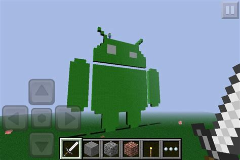 minecraft for android android logo mcpe show your creation minecraft