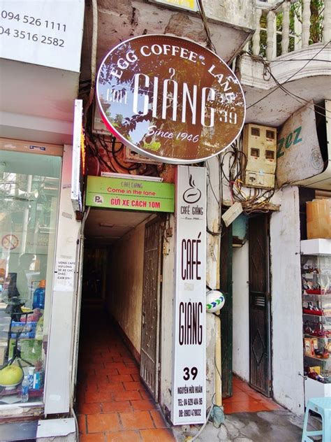 Cafe Giang   The Original Creator of the Famous Egg Coffee in Hanoi   Spring Tomorrow