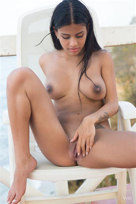 Latina Swimsuit Model Denisse Gomez Masturbates Horny
