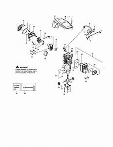 Poulan Model P3816 Type 1 Chainsaw  Gas Genuine Parts