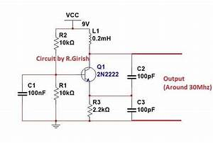 Lc Oscillator Working And Circuit Diagram Details