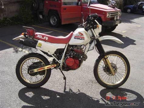 honda xlr bikepics 1988 honda xlr 250
