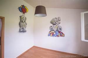 Déco Prénom Bébé : chambre d co graffiti pr nom en graff et trompe l 39 oeil ~ Teatrodelosmanantiales.com Idées de Décoration