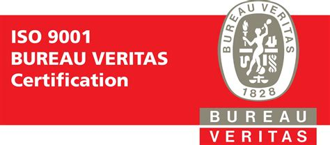 logo iso 9001 bureau veritas certified according to iso