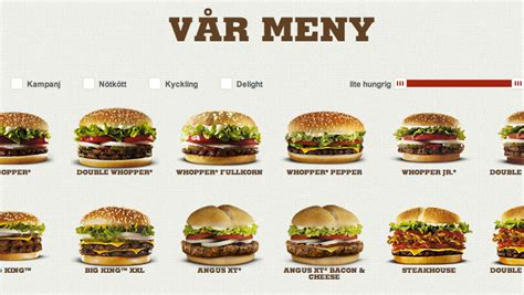 Fast food geography: Discover Sweden through Burger King ...