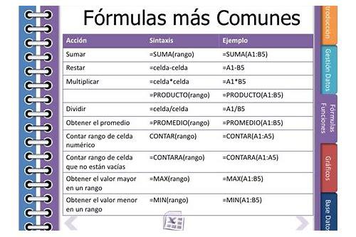 formulas básicas excel pdf baixar