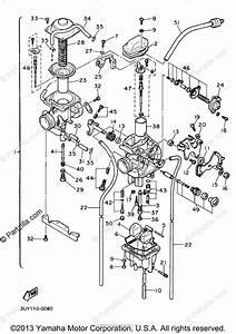 Yamaha Motorcycle 1990 Oem Parts Diagram For Carburetor