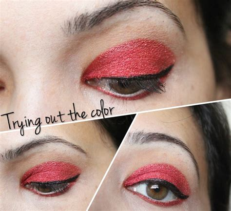 red eye makeup   top  styles  life