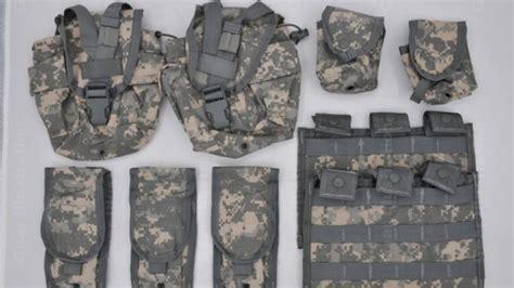 molle ii rifleman set universal camouflage gear