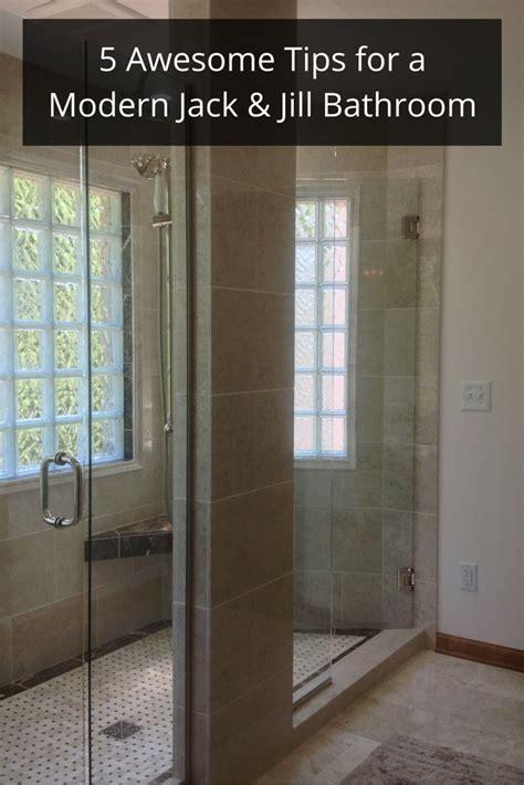 tips   modern jack  jill bathroom remodel