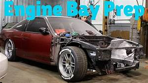 Painting 240sx Engine Bay Part 1