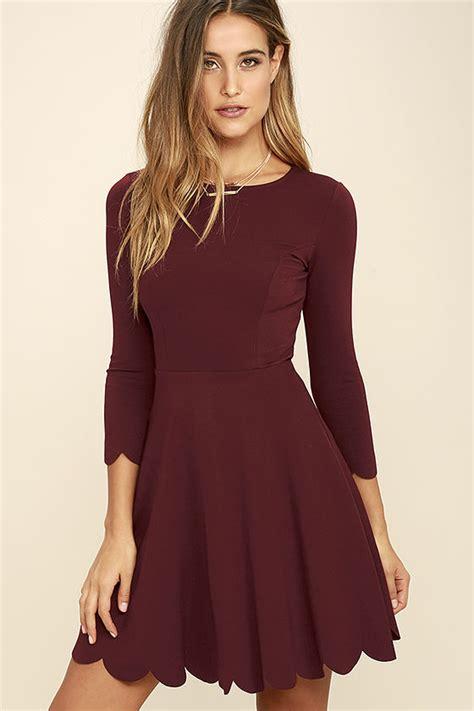 skater stretch skirt skater dress sleeve dress fit and flare dress