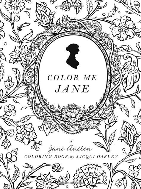 amazon com color me jane a jane austen adult coloring
