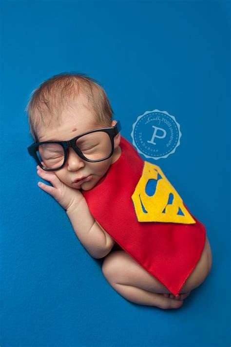 newborn superman superhero boy costume superhero