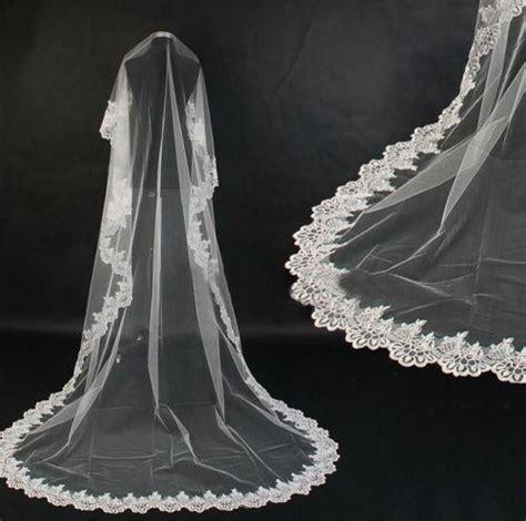 Long Wedding Veil Ebay