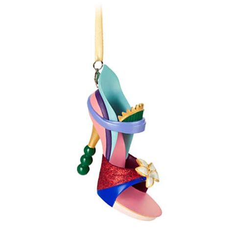 disney shoe ornament princess mulan