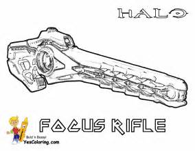 Halo Guns Coloring Pages