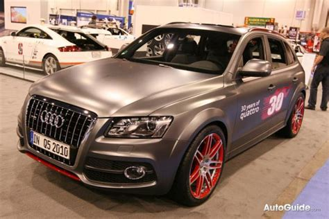 Sema 2010 Widebody Audi Q5 Custom Concept Trades 20t For
