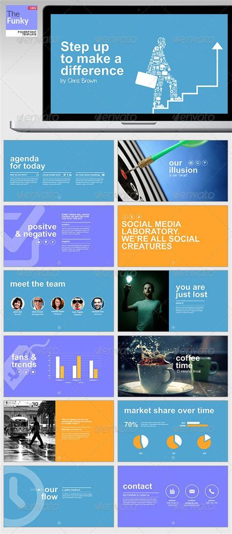 thefunky powerpoint template business powerpoint