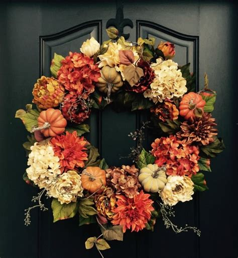 etsy autumn wreaths home decorating fall wreaths fall