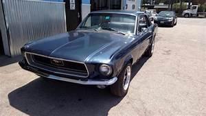1968 Ford Mustang 302 230 Hp V8 2 Door Hardtop Blue