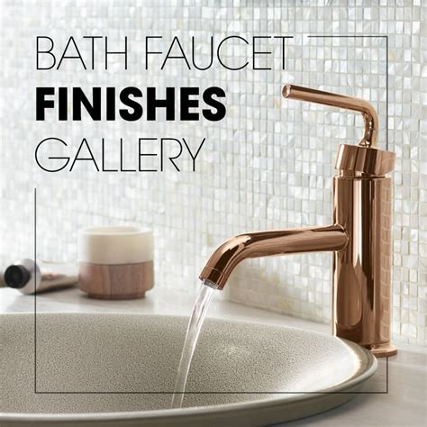 bathroom faucet finishes gallery kohler ideas