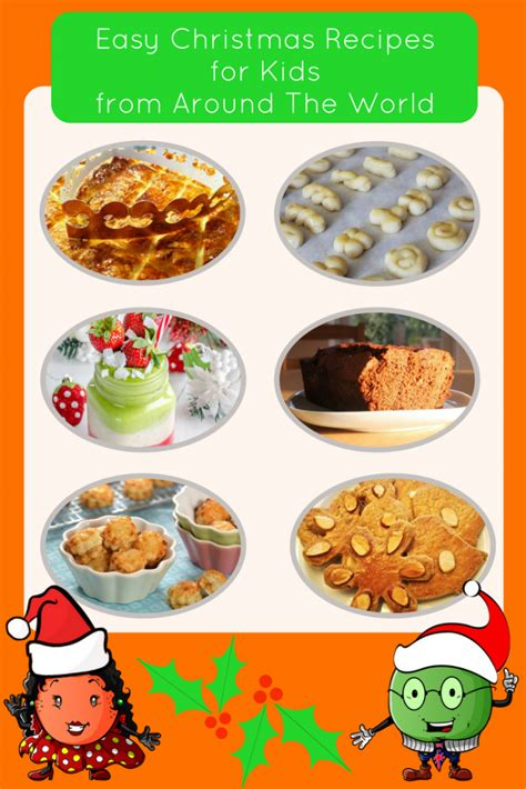easy christmas recipes  kids recipes    world
