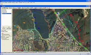 'Incident Commander' software - GIS Overview