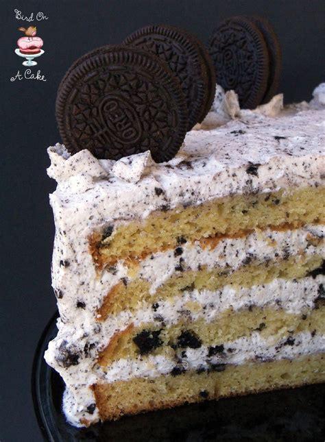 bird   cake oreo cookies  cream cake