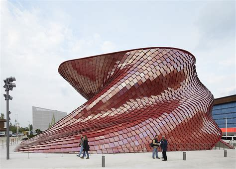 vanke pavilion milan expo 2015 daniel libeskind archdaily