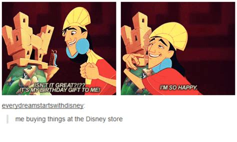 Disney Birthday Meme - isnet it great 777 its my birthday gift to me every dreamstartswithdisney i me buying things at