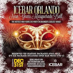 Annual New Years Eve Masquerade Ball 2016 at the Ice Bar ...