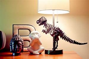 DIY Dinosaur Lamp for Less Than $30! - A Grande Life