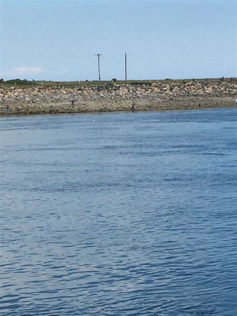 Cape Cod Canal At Low Tide  History Cape Cod Canal