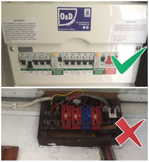 consumer unit fuse box replacement o d electrical ltd