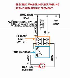 Best Water Heater Wiring Diagram Dual Element Contemporary
