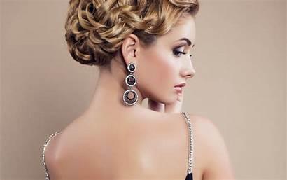 Earrings Jewelry Woman Trendy Wallpapers Makeup