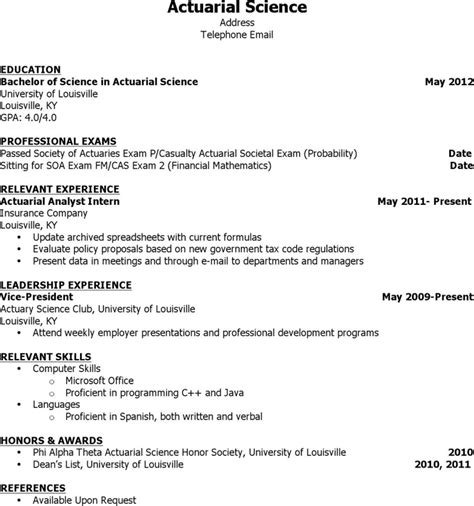 Actuarial Science Resume by Actuarial Resume Templates Free Premium Templates Forms Sles For Jpeg Png