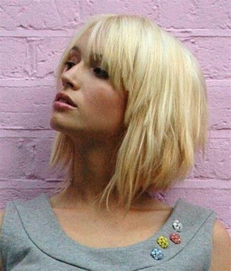 Blonde Bob Hair Pinterest Bobs Edgy