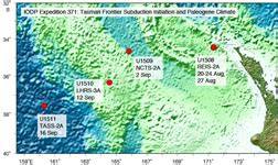 Iodp Jrso • Iodp Maps For Papers And Presentations