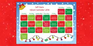 * New * Staff Wellbeing Selfcare Advent Calendar Display