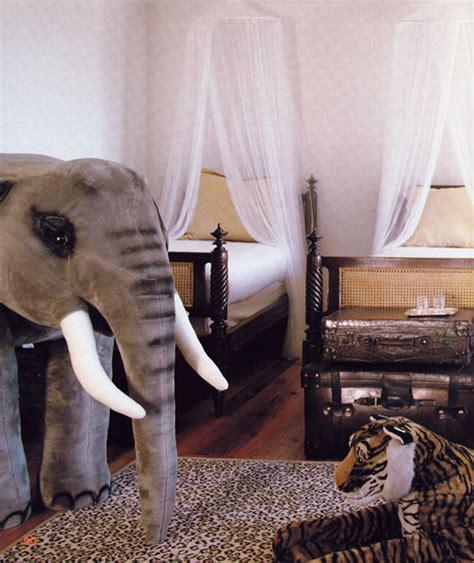 wildlife  animal print themed nursery