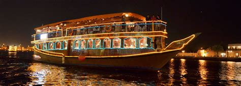 Marina Boat Restaurant by Marina Dhow Cruise Dubai 3 Hour Luxury Cruise Tour