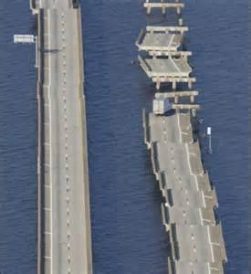 Damage Hurricane Ivan Pensacola Bridge