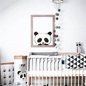 Decoración Panda para bebés y niños Habitaciones Tematicas