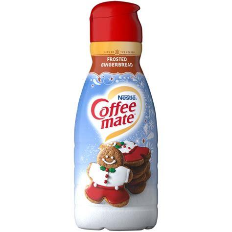 For those who take their coffee easy. COFFEE MATE Frosted Gingerbread Liquid Coffee Creamer 32 fl. oz. Bottle - Walmart.com - Walmart.com